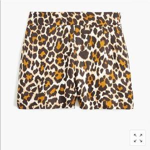 Leopard Shorts 3 1/2in inseam